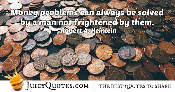 Solving Money Problems Quote