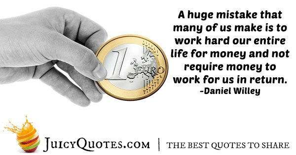 Working For Money Quote