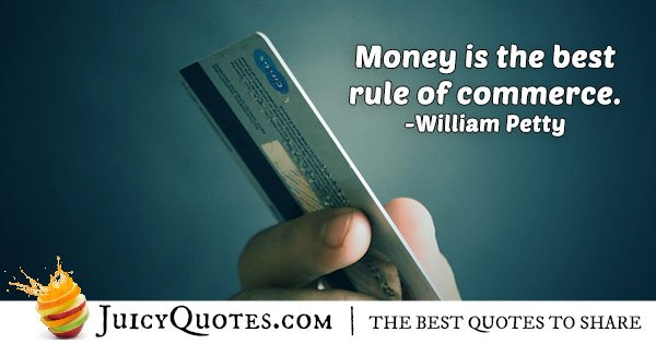 Money and Commerce Quote
