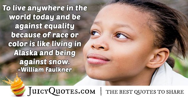 Race And Equality Quote