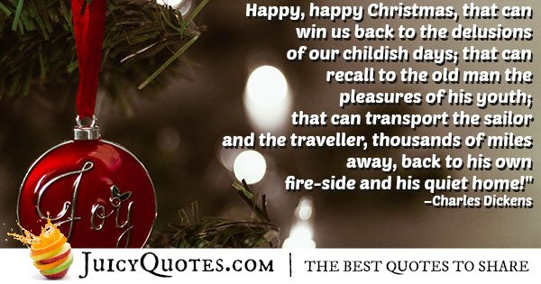 Happy Christmas Quote