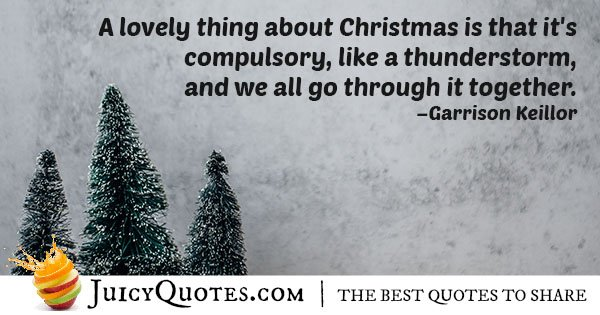 Christmas is Mandatory Quote