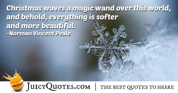Christmas Magic Quote