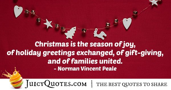 Christmas Joy Quote
