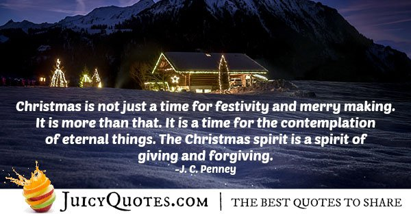 Quote About Christmas