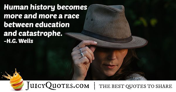 Human History Quote