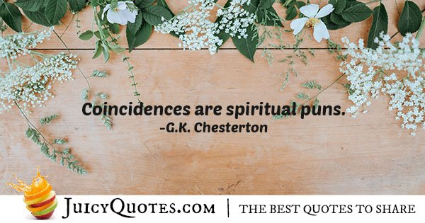 Quote About Coincidence