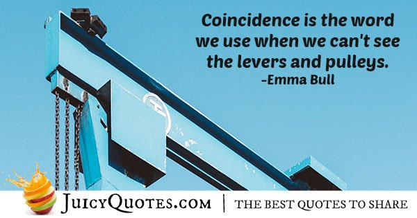 What Is Coincidence Quote