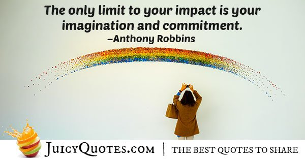 Imagination and Commitment Quote