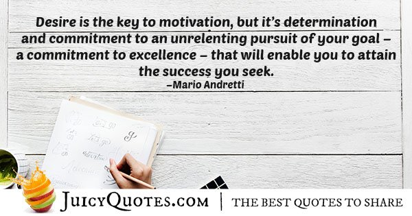 Commitment and Determination Quote