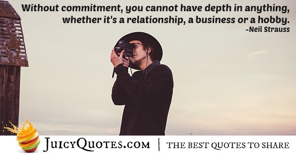 Without Commitment Quote