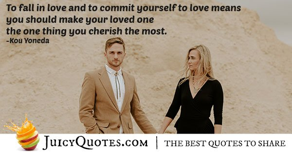 Love and Commitment Quote
