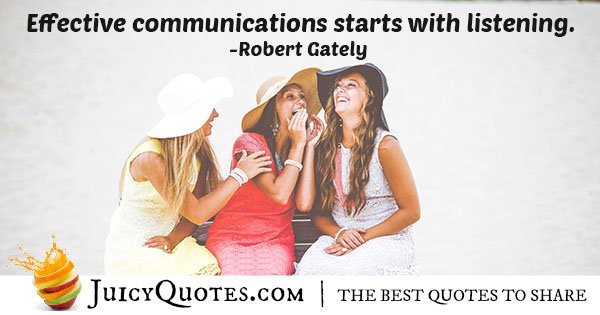 Effective Communication Quote