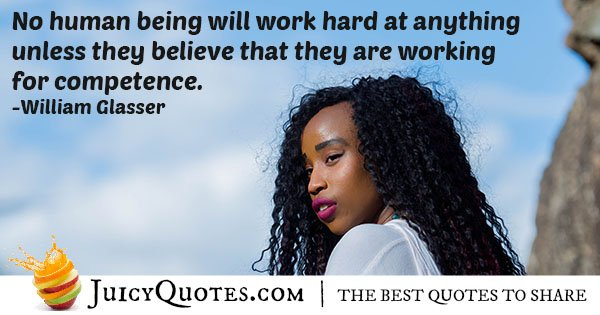 Working For Competence Quote 29