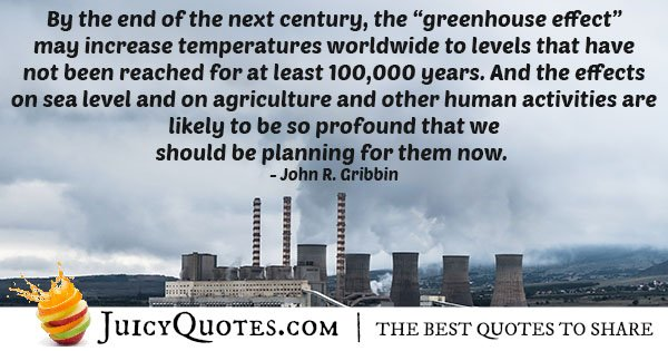 Greenhouse Effect Quote