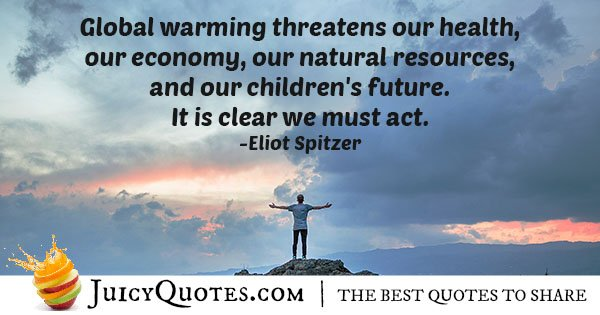 Quote About Global Warming