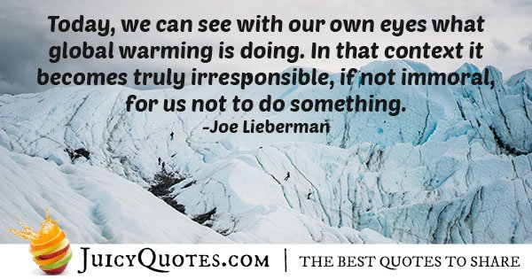 See Global Warming Quote