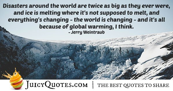World Is Changing Quote
