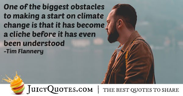 Improving Climate Change Quote