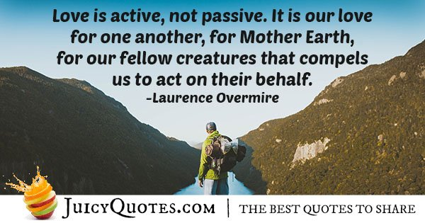 Mother Earth Quote
