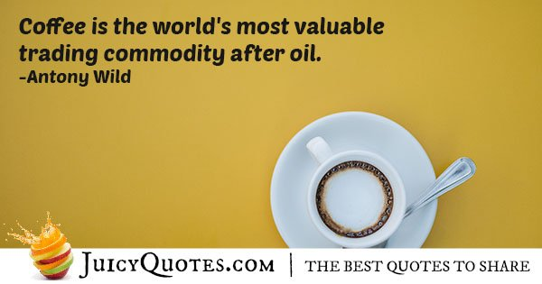 Value of Coffee Quote