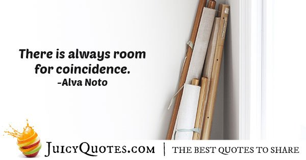 More Coincidences Quote