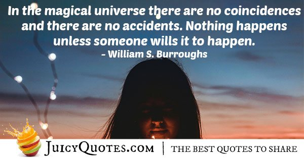 Magical Universe Quote