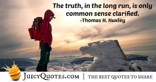 Common Sense Clarified Quote