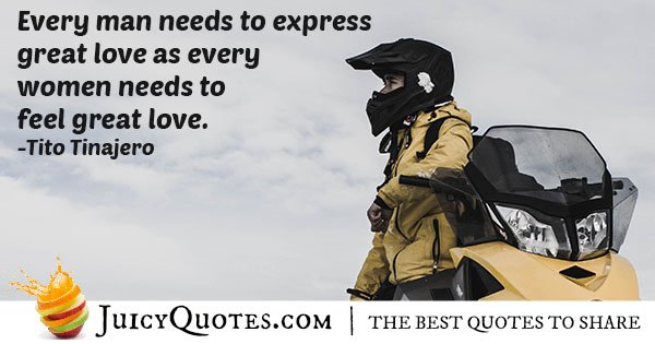 Expressing Love Quote