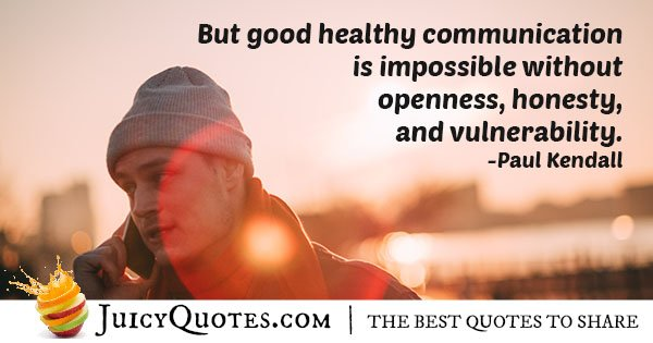 Open Communication Quote