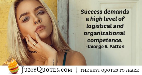 Success and Competence Quote