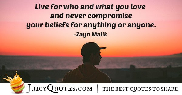 Never Compromise Your Believes Quote