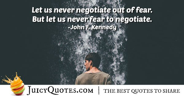 Fear and Compromise Quote
