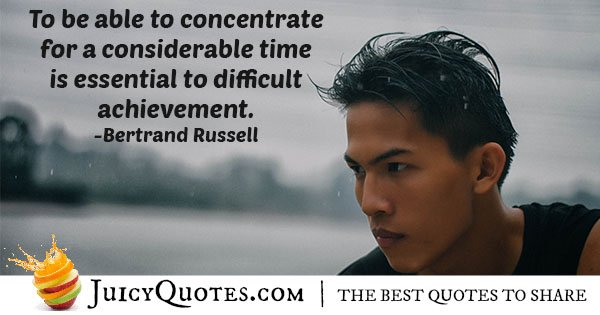 Concentrate for Long Quote