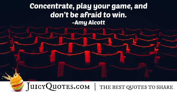 Concentration to Win Quote
