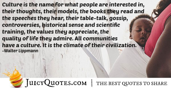 Cultures and Civilizations Quote