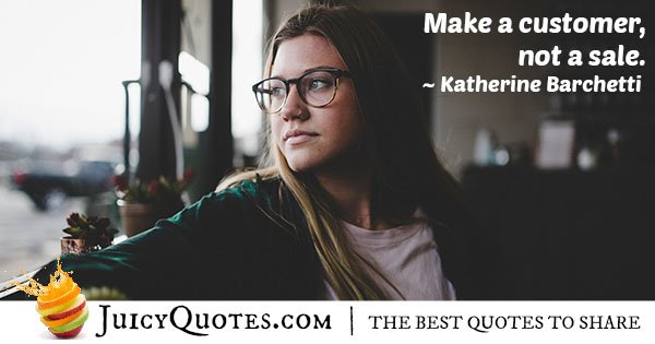 Make a Customer Quote