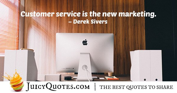 New Customer Service Quote