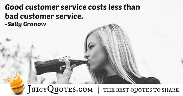 Good Customer Service Quote