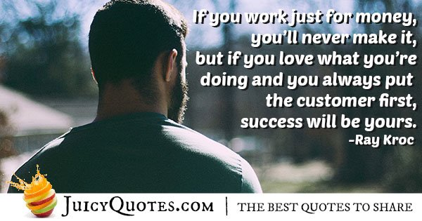 Customer First Quote