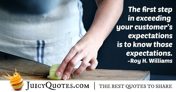 Know The Expectations Quote