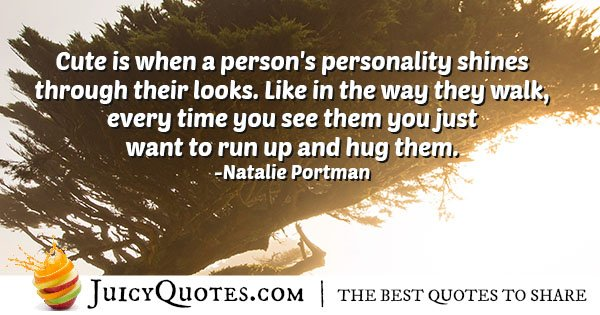Cute Personality Quote