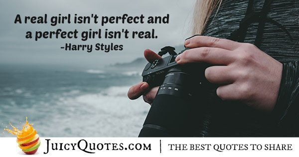A Perfect Girl Quote