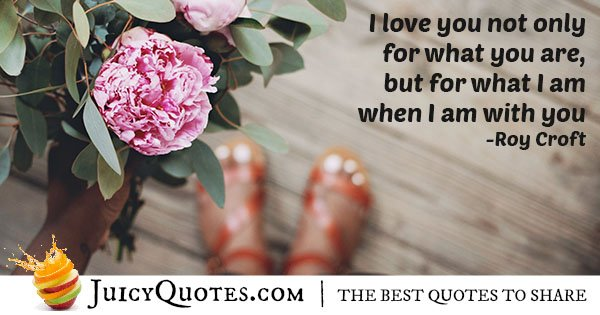 Cute I Love You Quote