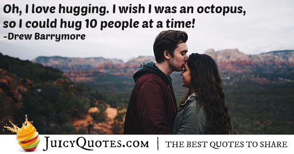 I love Hugs Quote