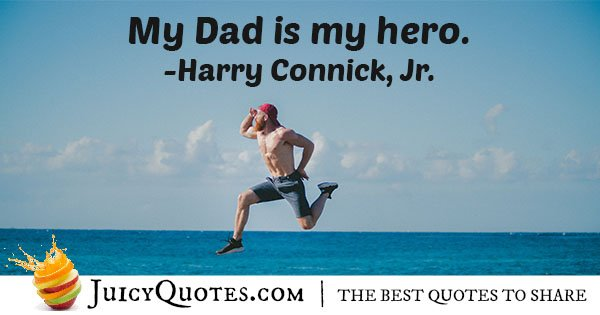 My Dad Is My Hero Quote