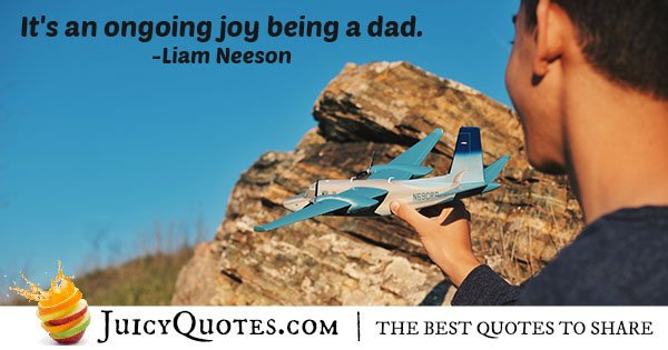 Joys of Being a Dad Quote