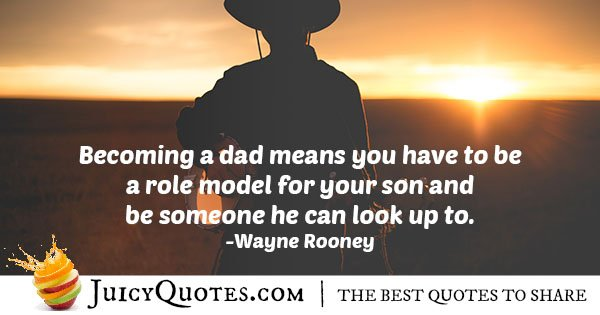 Becoming a Dad Quote