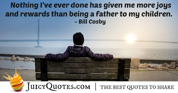 Joyfulness of Being a Dad Quote