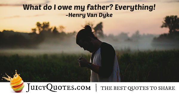 Quote About Fathers